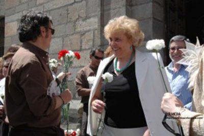 Claveles en 2012 en La Oliva. MERA