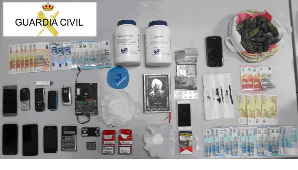 CANGAS DEL NARCEA.- Detenidos por tráfico de drogas
