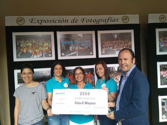 CANGAS DEL NARCEA.- Un premio para El Magayu