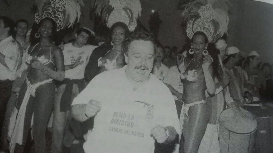 CANGAS EL NARCEA.- La foto y su pie: El bailongo de Juan