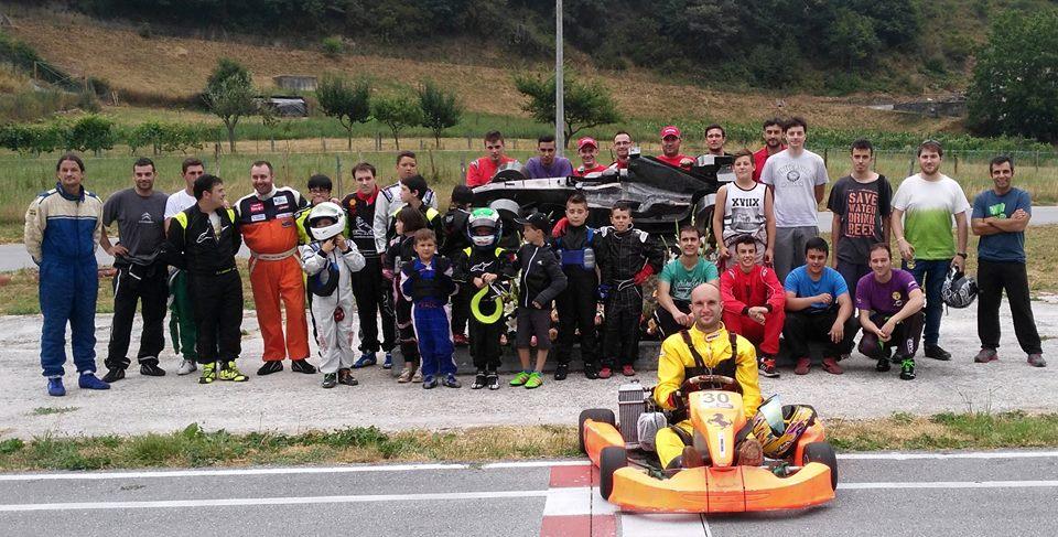 CANGAS DEL NARCEA.- Más de una treintena de pilotos en el III Memorial Toño Fernández