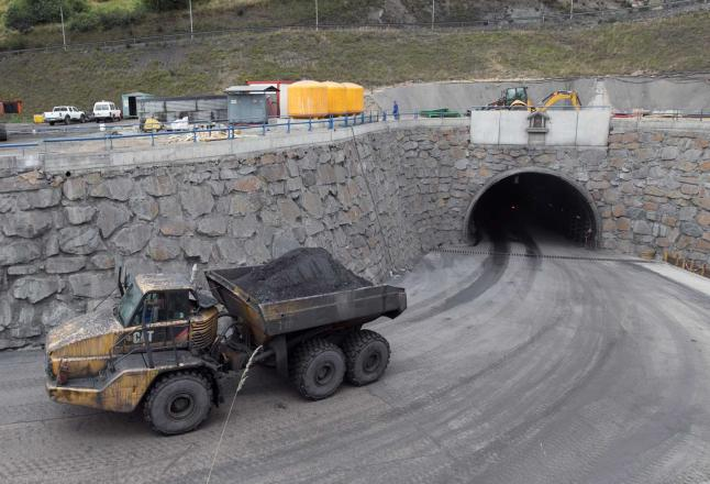 CANGAS DEL NARCEA.- Cortan la electricidad a la mina de Cerredo
