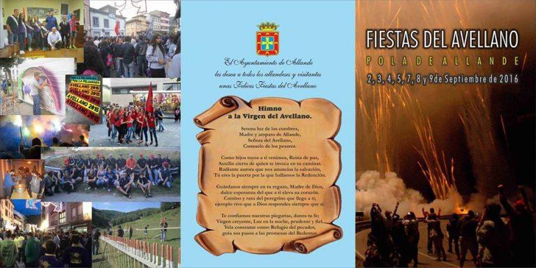 ALLANDE.- Fiestas del Avellano