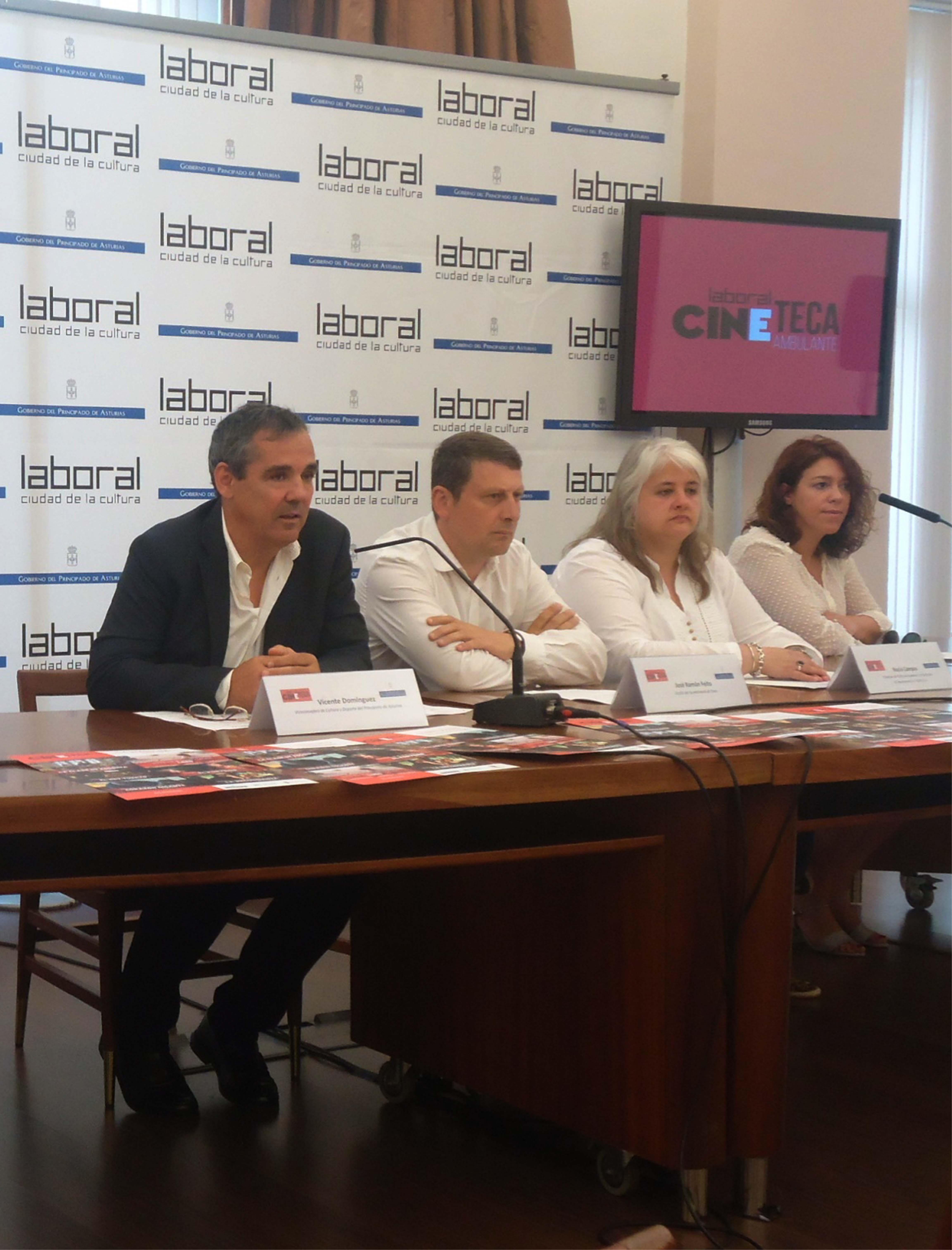 NARCEA/TINEO.- Presentada la Cineteca Ambulante, que lleva a Cangas y Tineo seis películas internacionales.