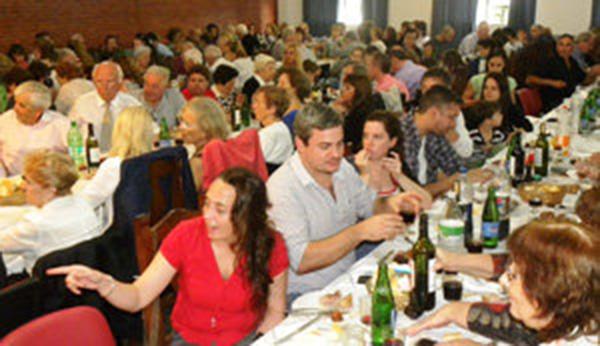 CANGAS DEL NARCEA.- Fiesta de la Amistad en Buenos Aires
