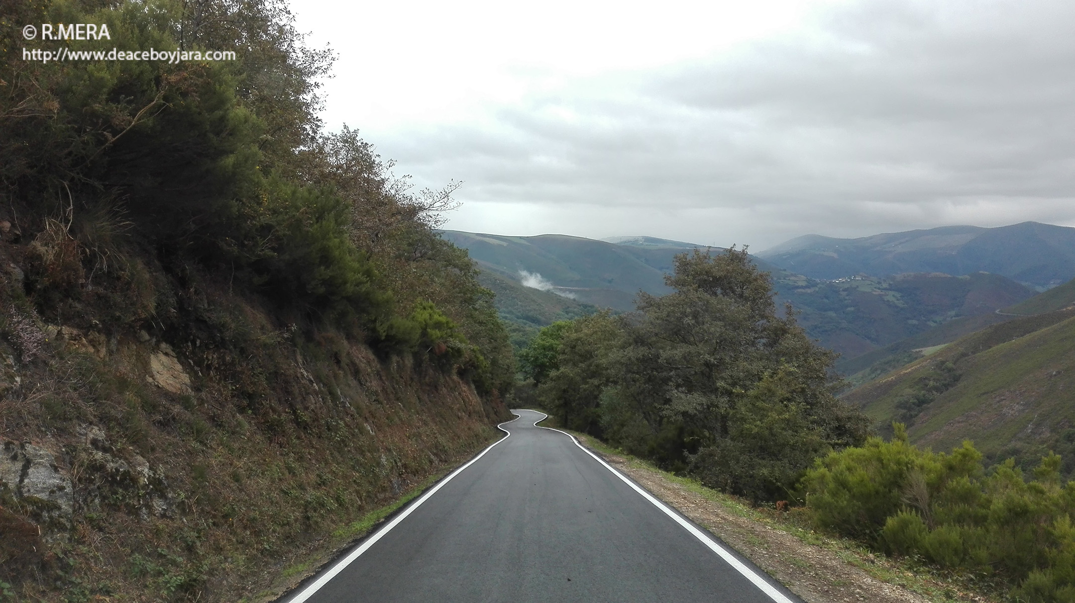 ALLANDE.- Concluyeron las obras de acceso al pueblo de Monón