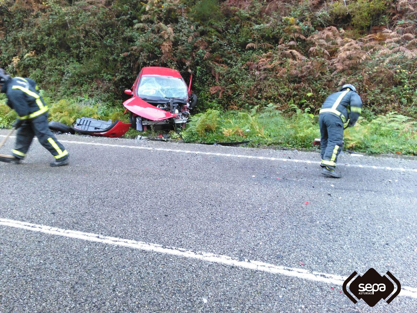 CANGAS DEL NARCEA.- Una mujer muerta en accidente de tráfico