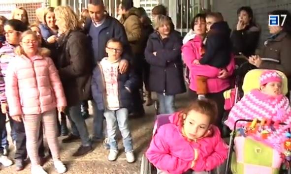 CANGAS DEL NARCEA- Padres de alumnos con necesidades especiales denuncian su situación.