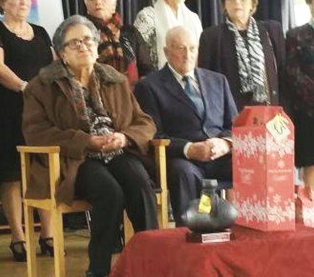 CANGAS DEL NARCEA.-Homenajeados los socios de más edad del Centro de Mayores.