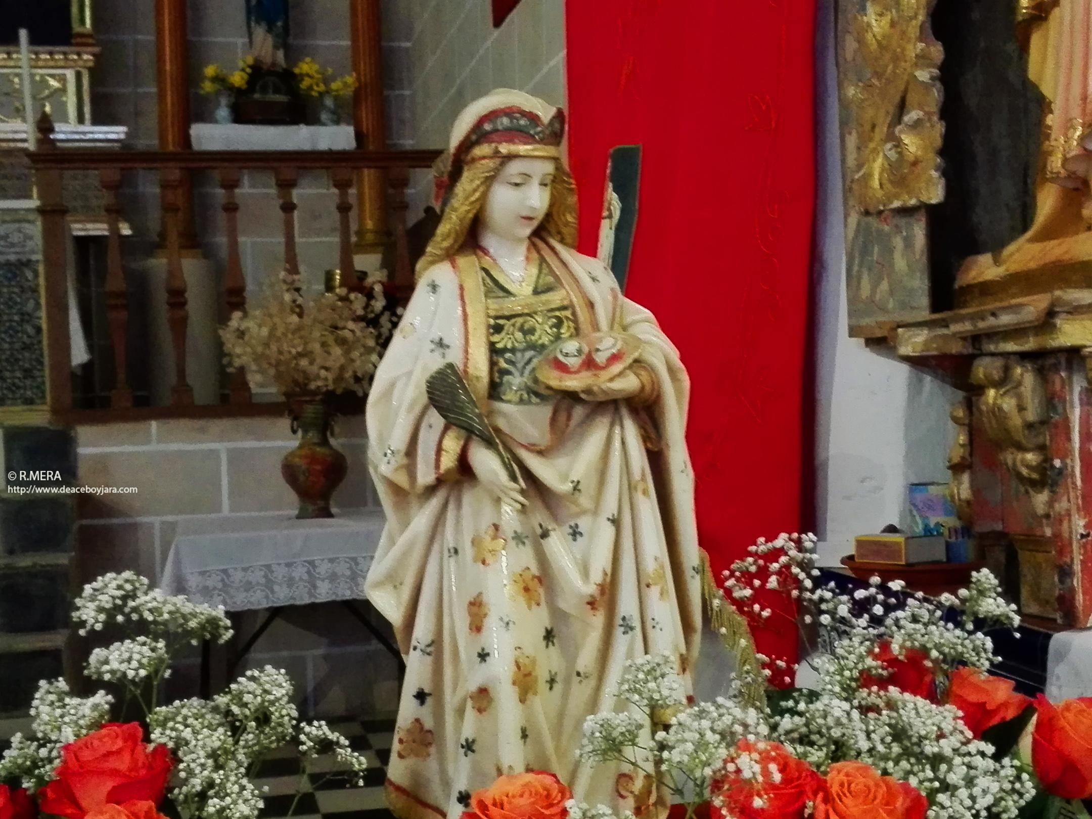 BERZOCANA.- Y acudimos a celebrar Santa Lucía en Solana