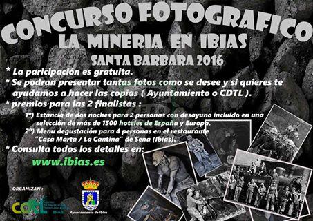 IBIAS.- Convocado un concurso de fotografía sobre la minería
