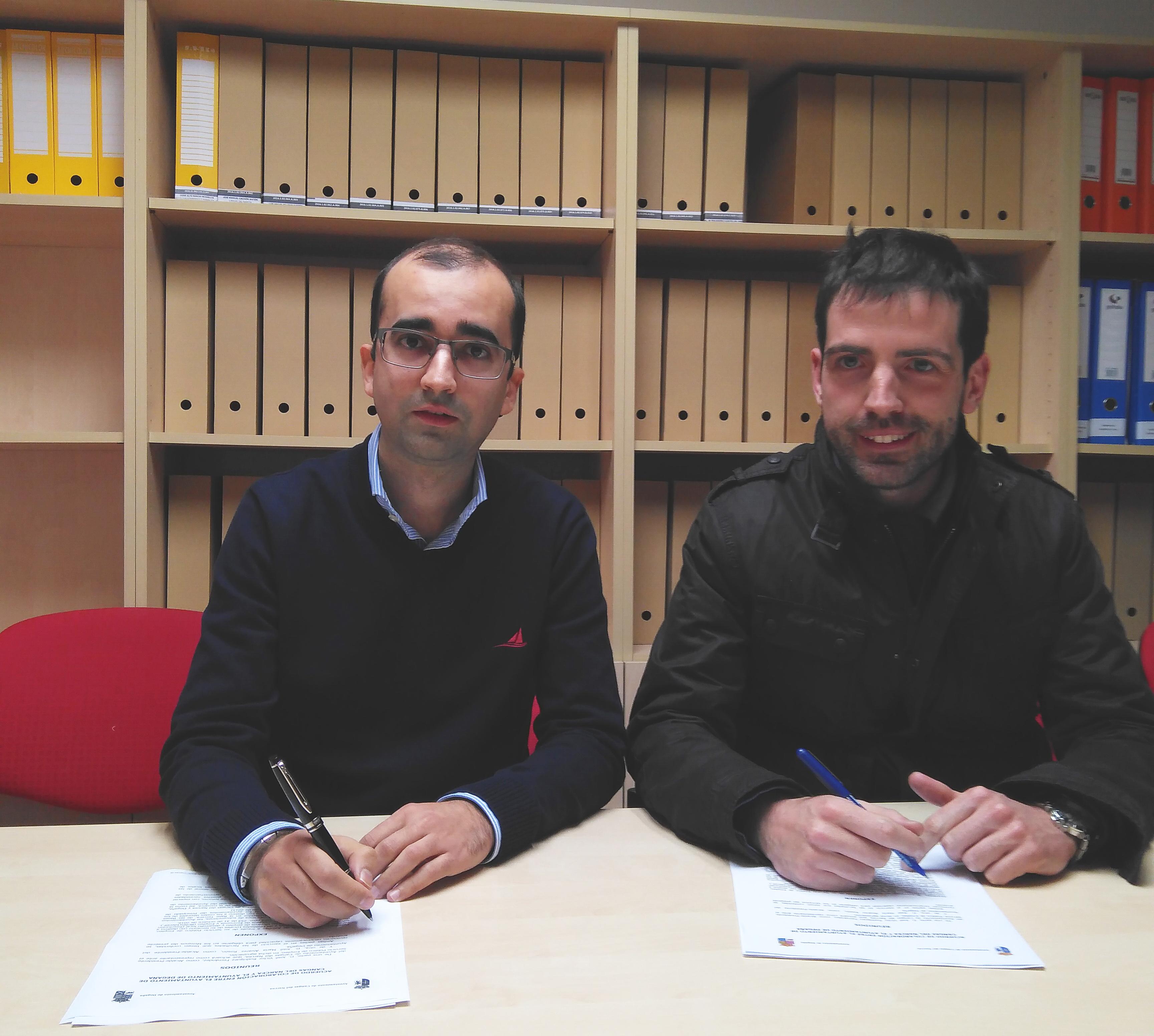 CANGAS DEL NARCEA.- Degaña y Cangas firman un acuerdo para fomentar el empleo, especialmente el femenino.