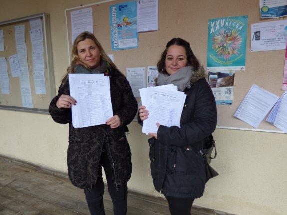 CANGAS DEL NARCEA.- Mil trescientas firmas contra el cierre de un aula