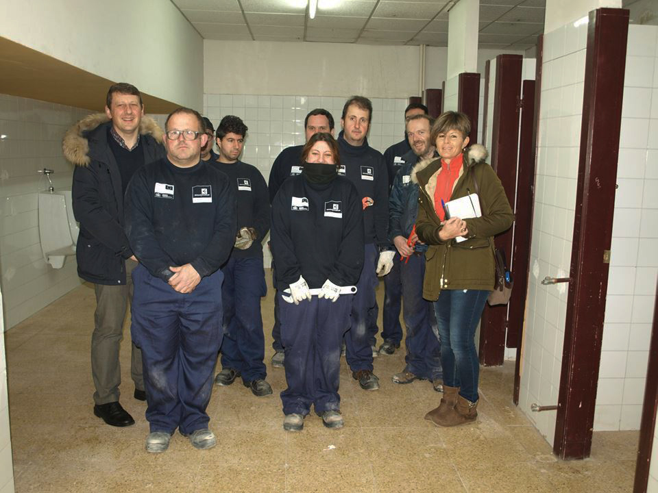 TINEO/NARCEA.- Prácticas de talleres de formación en Tineo y Cangas