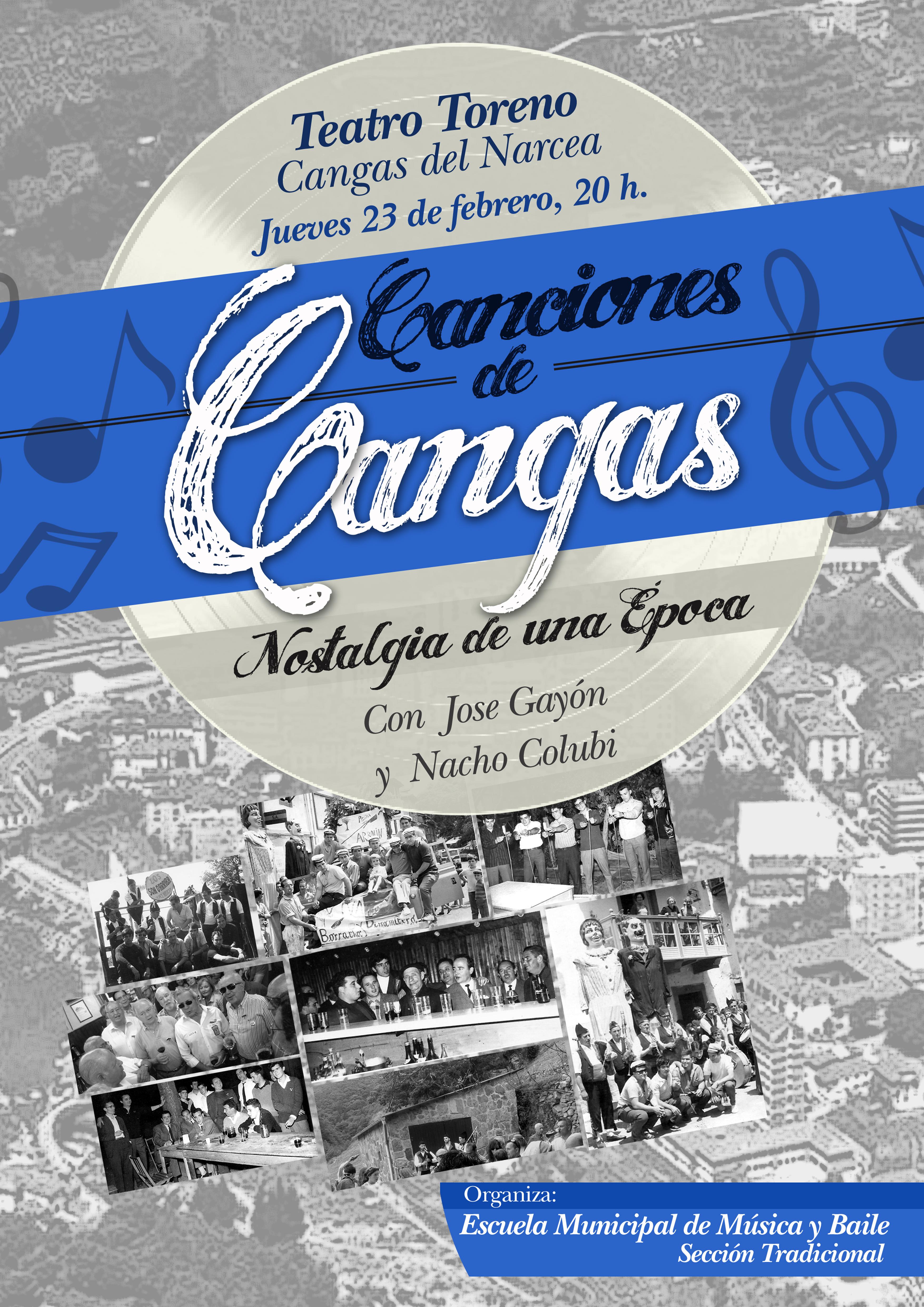 CANGAS DEL NARCEA.- Canciones de siempre