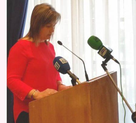 CANGAS DEL NARCEA.- María del Carmen Riesco (IU) tercera teniente de alcalde