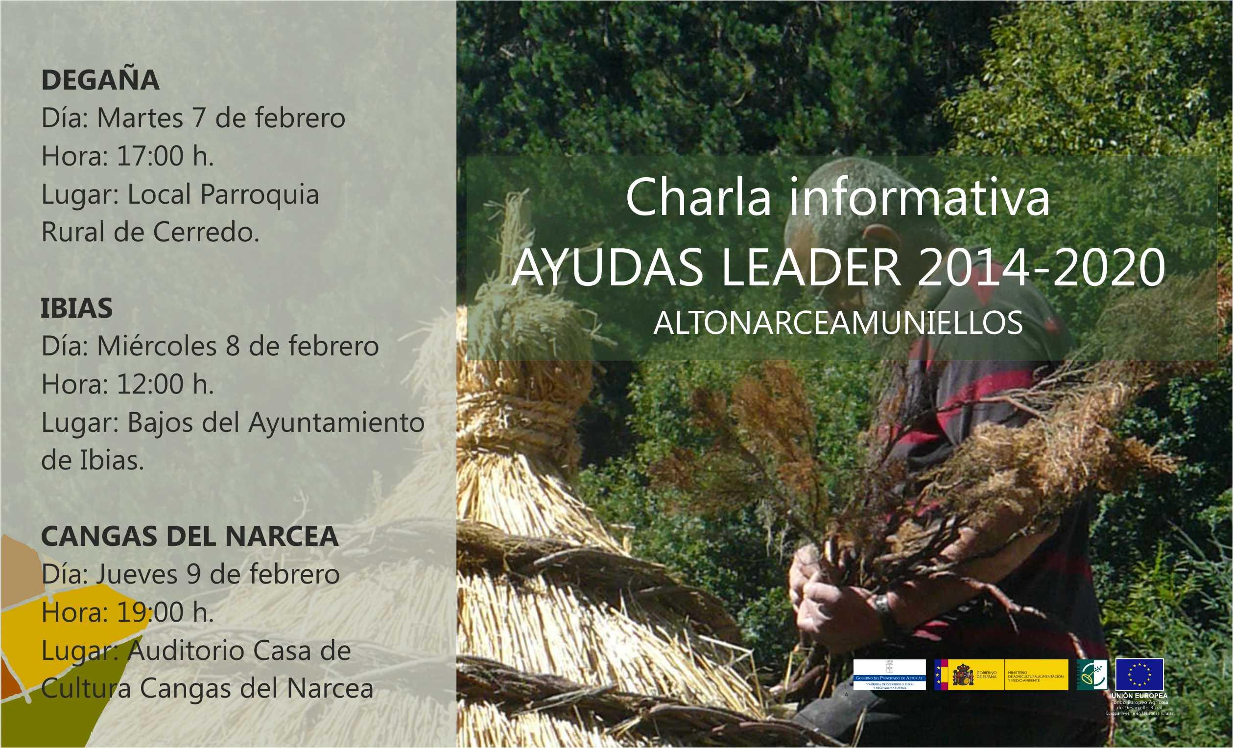CANGAS DEL NARCEA.- Programa de ayudas LEADER