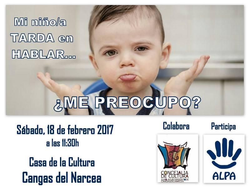 CANGAS DEL NARCEA.- Mañana: Conferencia de la canguesa Laura Martínez sobre los niños y el habla