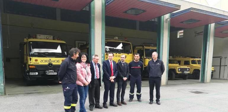 CANGAS DEL NARCEA.-El parque de bomberos renovará su autobomba forestal