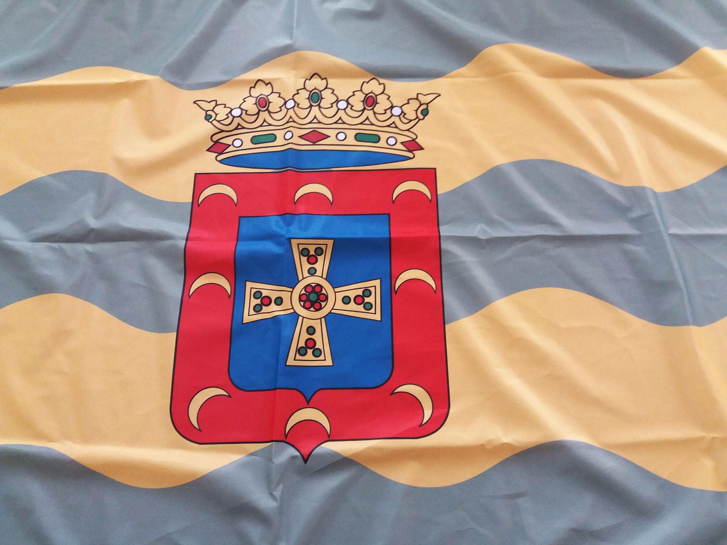 ALLANDE.- Recuperación de la bandera del concejo