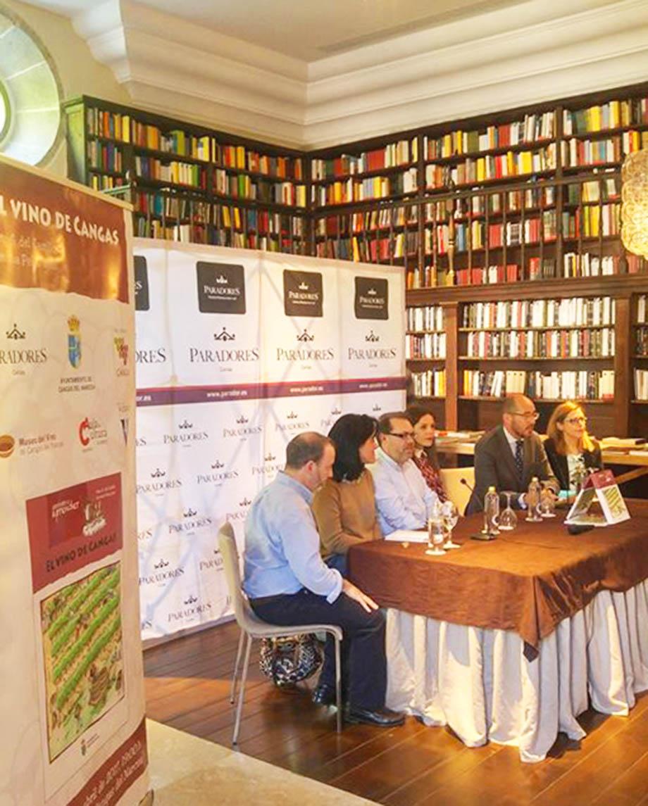 CANGAS DEL NARCEA.- Presentado el libro El vino de Cangas