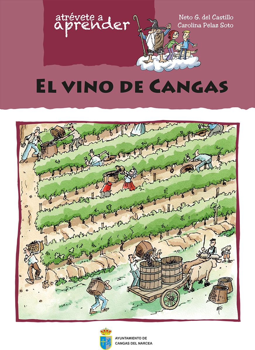 CANGAS DEL NARCEA.-Presentación libro El vino de Cangas