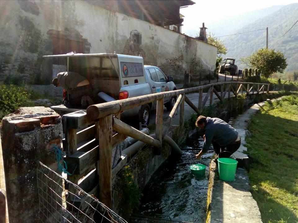 CANGAS DEL NARCEA. Los Pescadores unen sus fuerzas