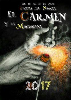 Cartel carmen 2017 Cangas del Narcea