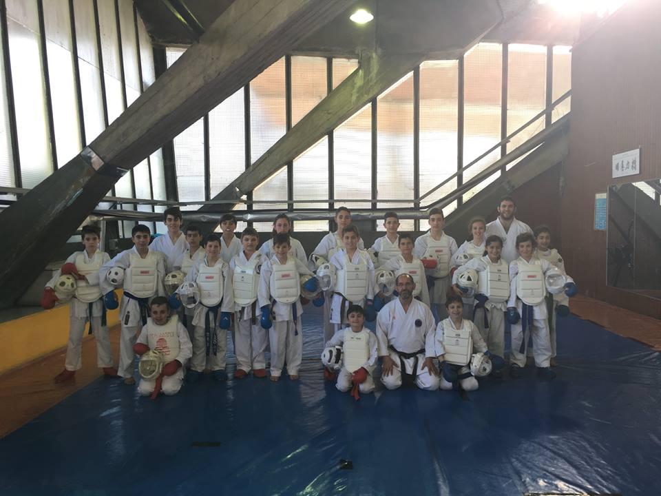 CANGAS DEL NARCEA.- Niko González campeón de karate en Madrid.