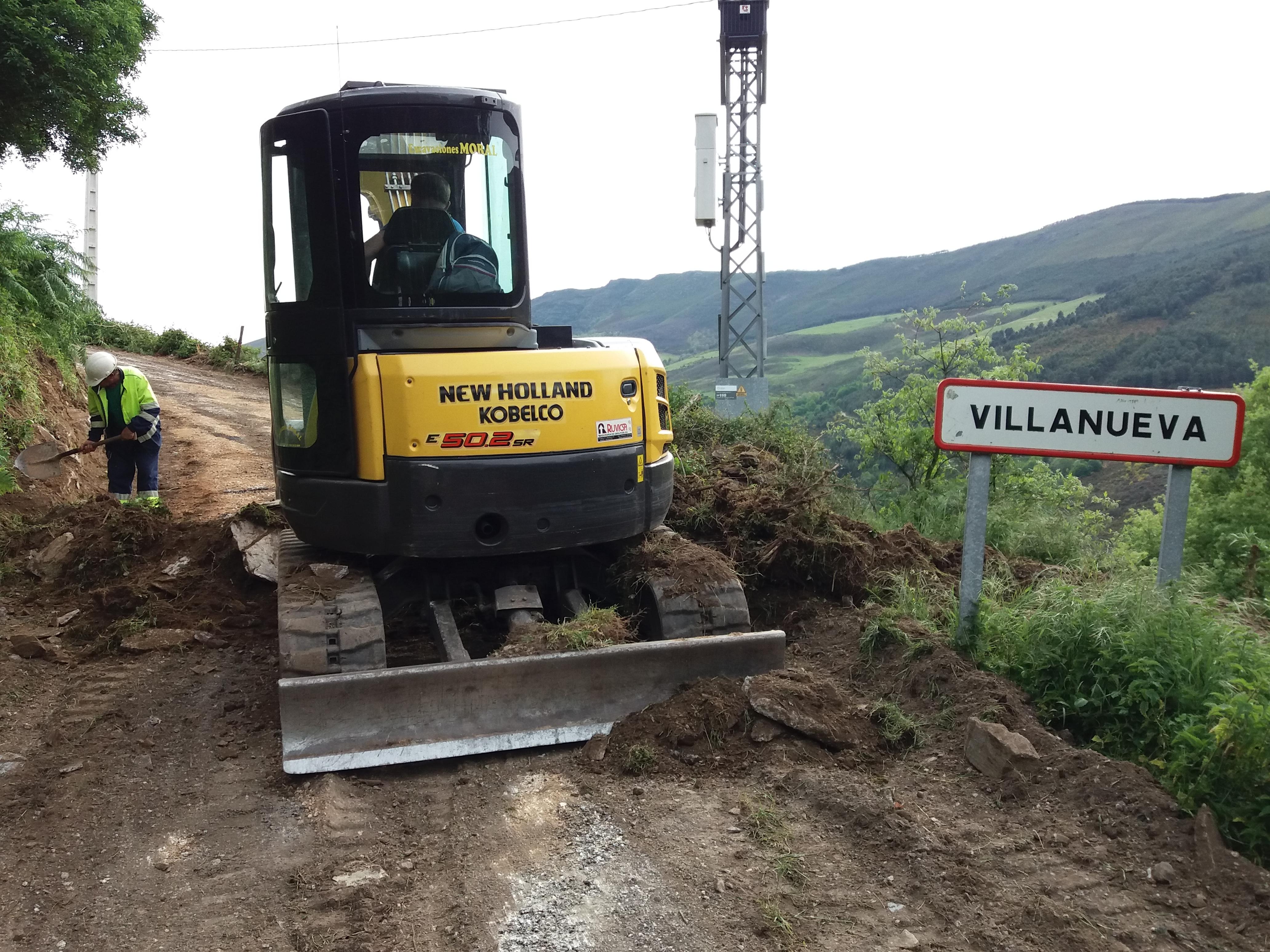 ALLANDE.- Acondicionamiento de accesos a Barras y Villanueva