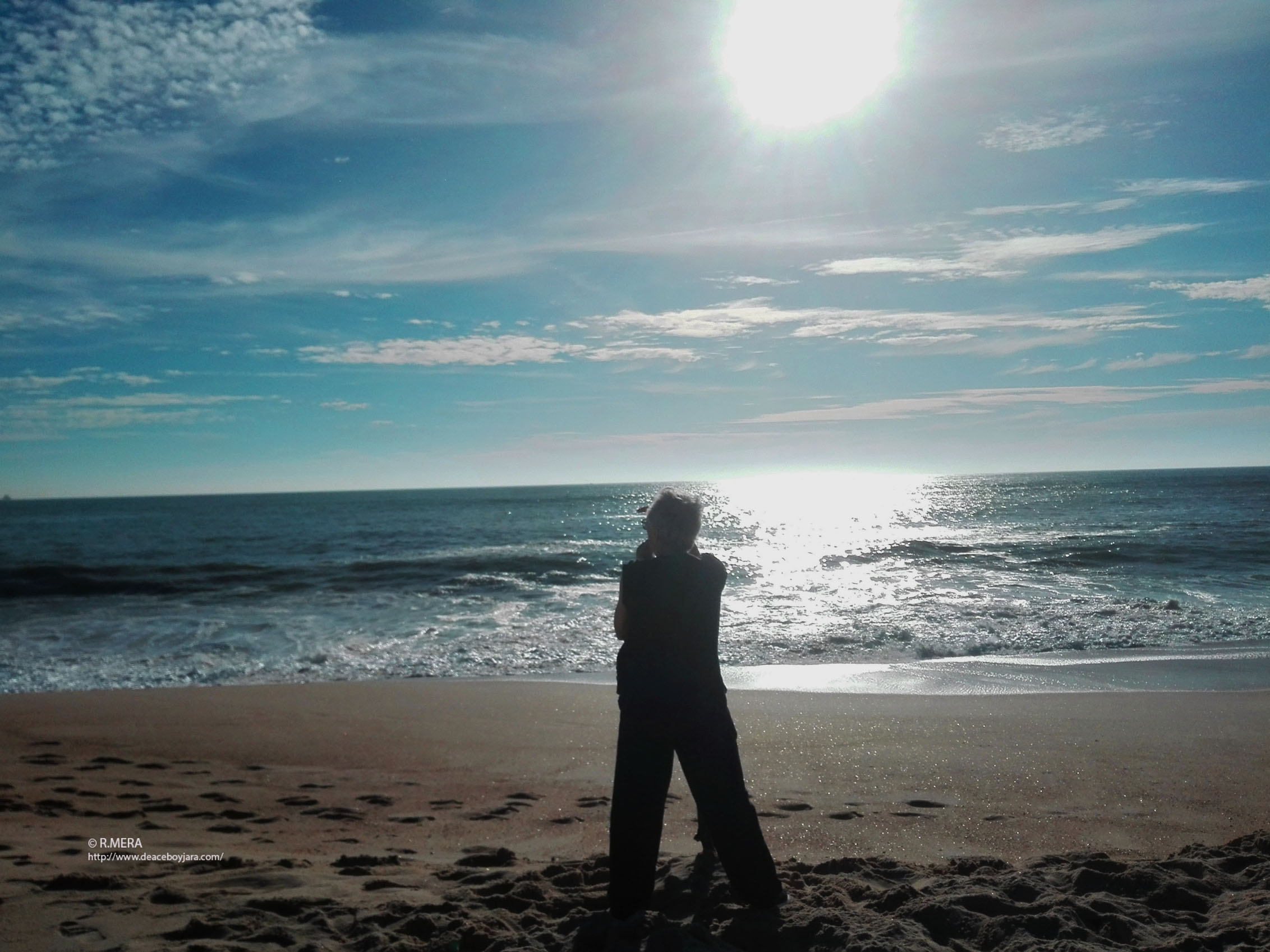 Con Camões frente al mar portugués