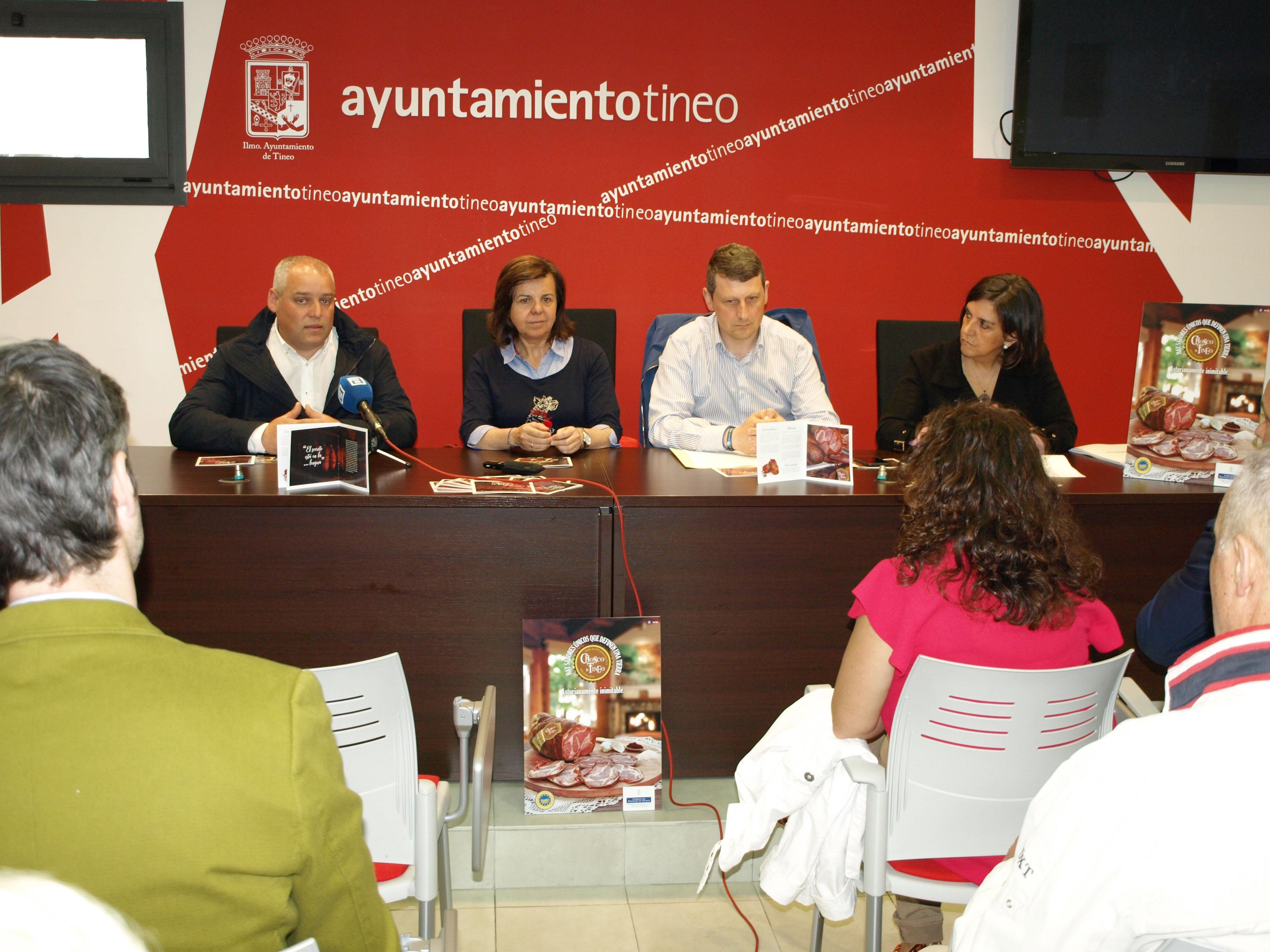 TINEO.- La I.G.P. Chosco de Tineo presenta su primera campaña publicitaria.