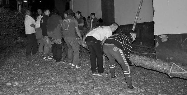 CANGAS DEL NARCEA.- Izando el Arbolón (I)