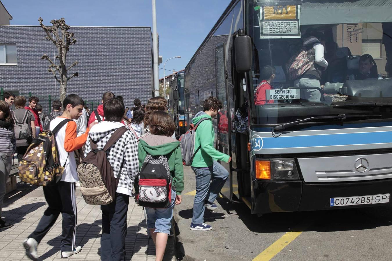 SUROCCIDENTE.- Plan Especial para el transporte escolar en la zona