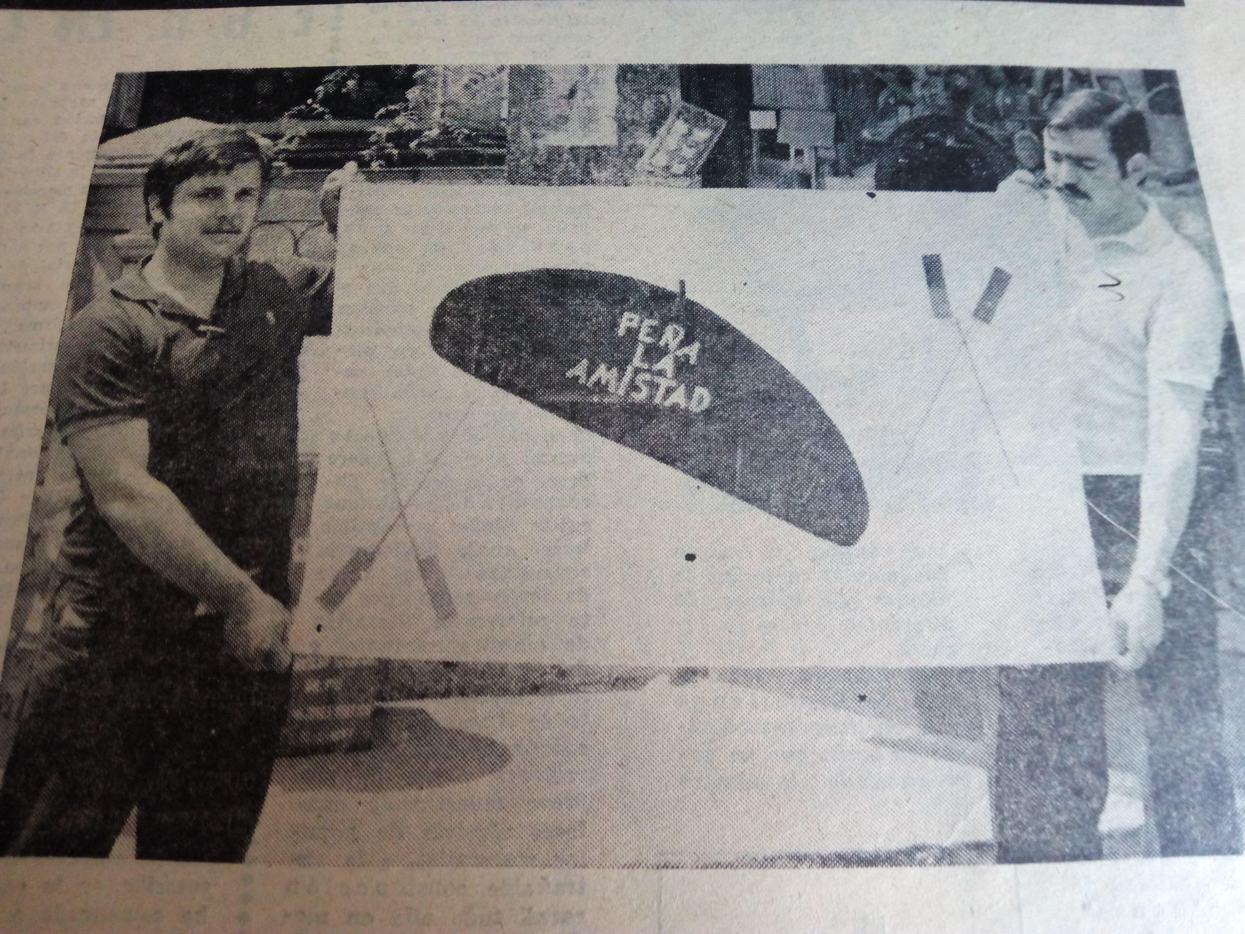 CANGAS DEL NARCEA.- Julio de 1975: Peña La Amistad