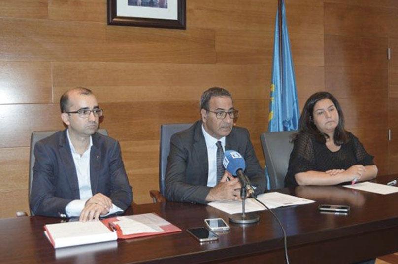 CANGAS DEL NARCEA.- Provechosa visita del Consejero de Infraestructuras: Se arreglará la AS-15