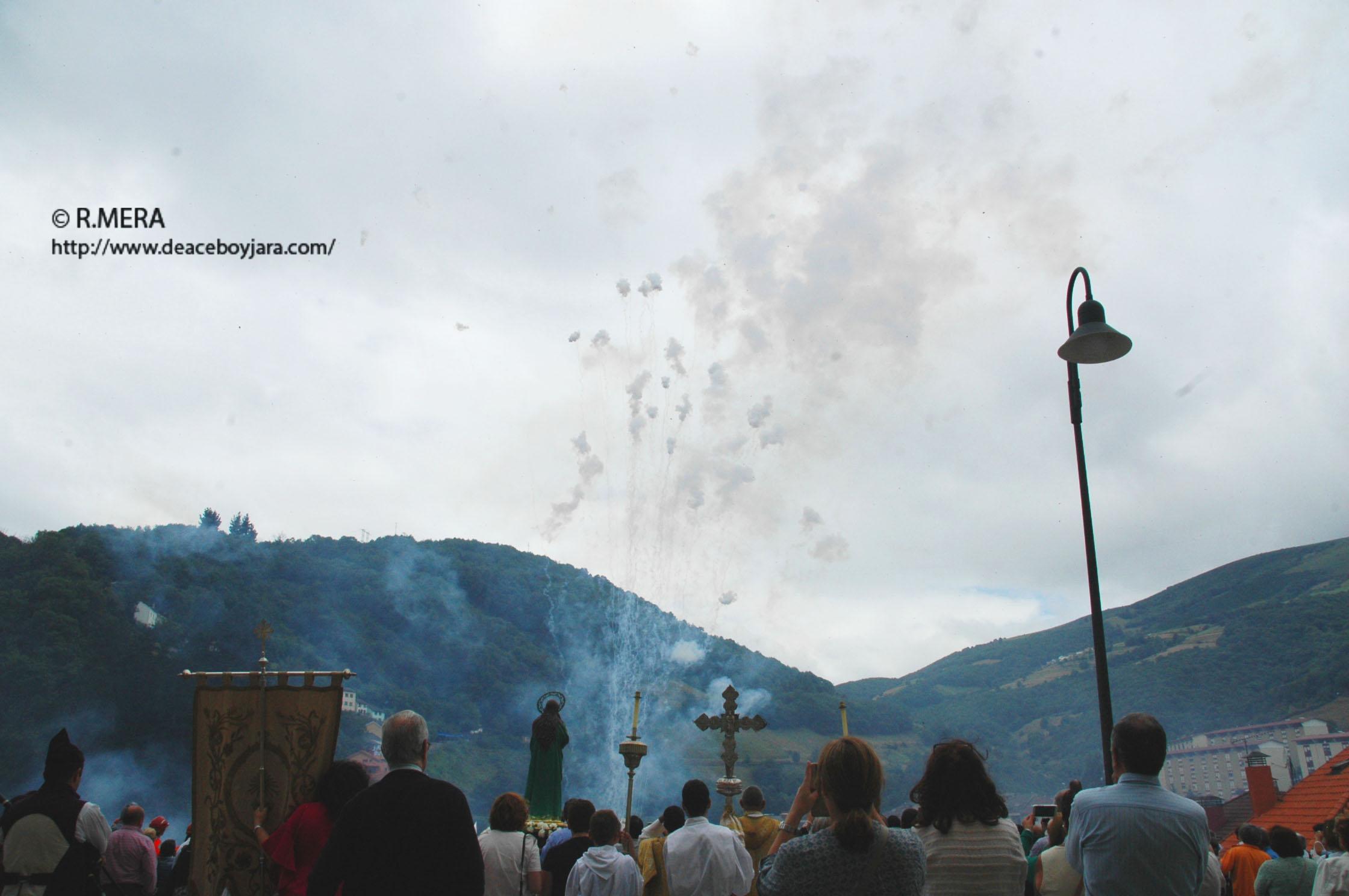 CANGAS DEL NARCEA.- La Magdalena y el último volador