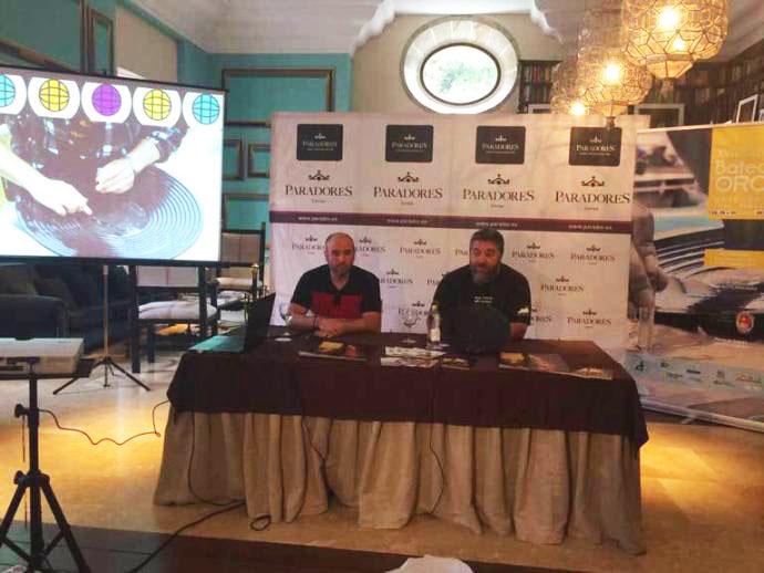 CANGAS DEL NARCEA.- Presentado el Campeonato Mundial  de Bateo de Oro en el Parador de Corias