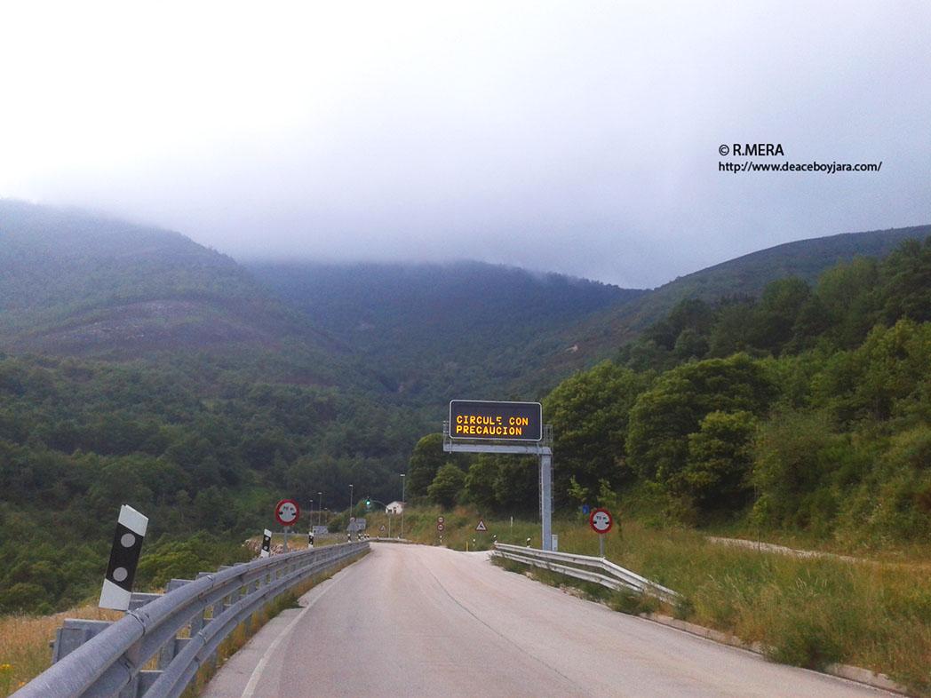 CANGAS DEL NARCEA.- Ruta ciclista protegida en el Suroccidente
