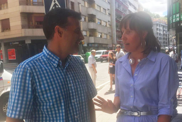 CANGAS DEL NARCEA.- Dimitió Mónica Díaz tras 18 años de concejal