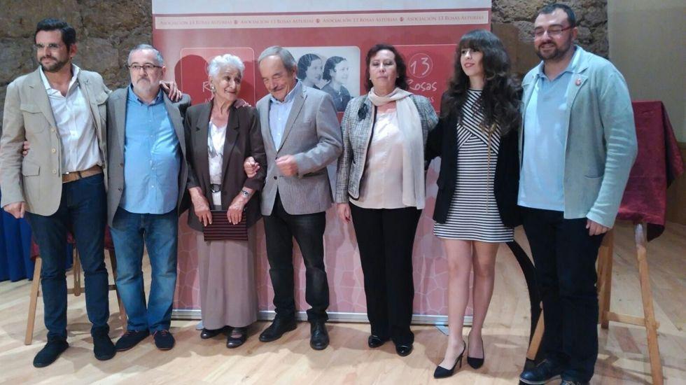 CANGAS DEL NARCEA.- La activista canguesa HildaFarfante premiada por la Asociación Trece Rosas