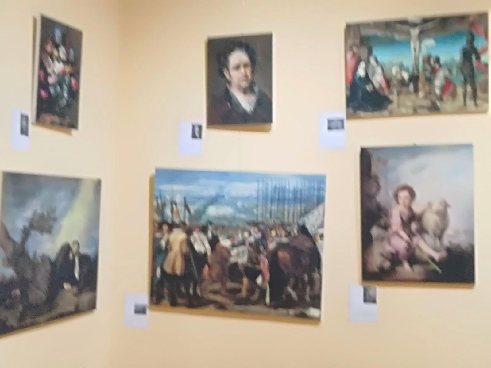 CANGAS DEL NARCEA.- Reproducciones de obras del Museo del Prado en Cangas