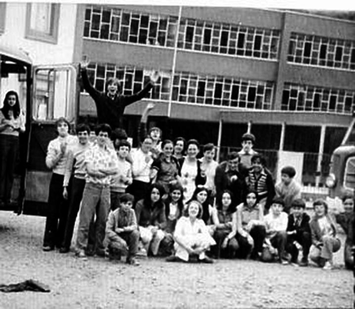 La foto y su pie: Alumnos de Soto de la Barca