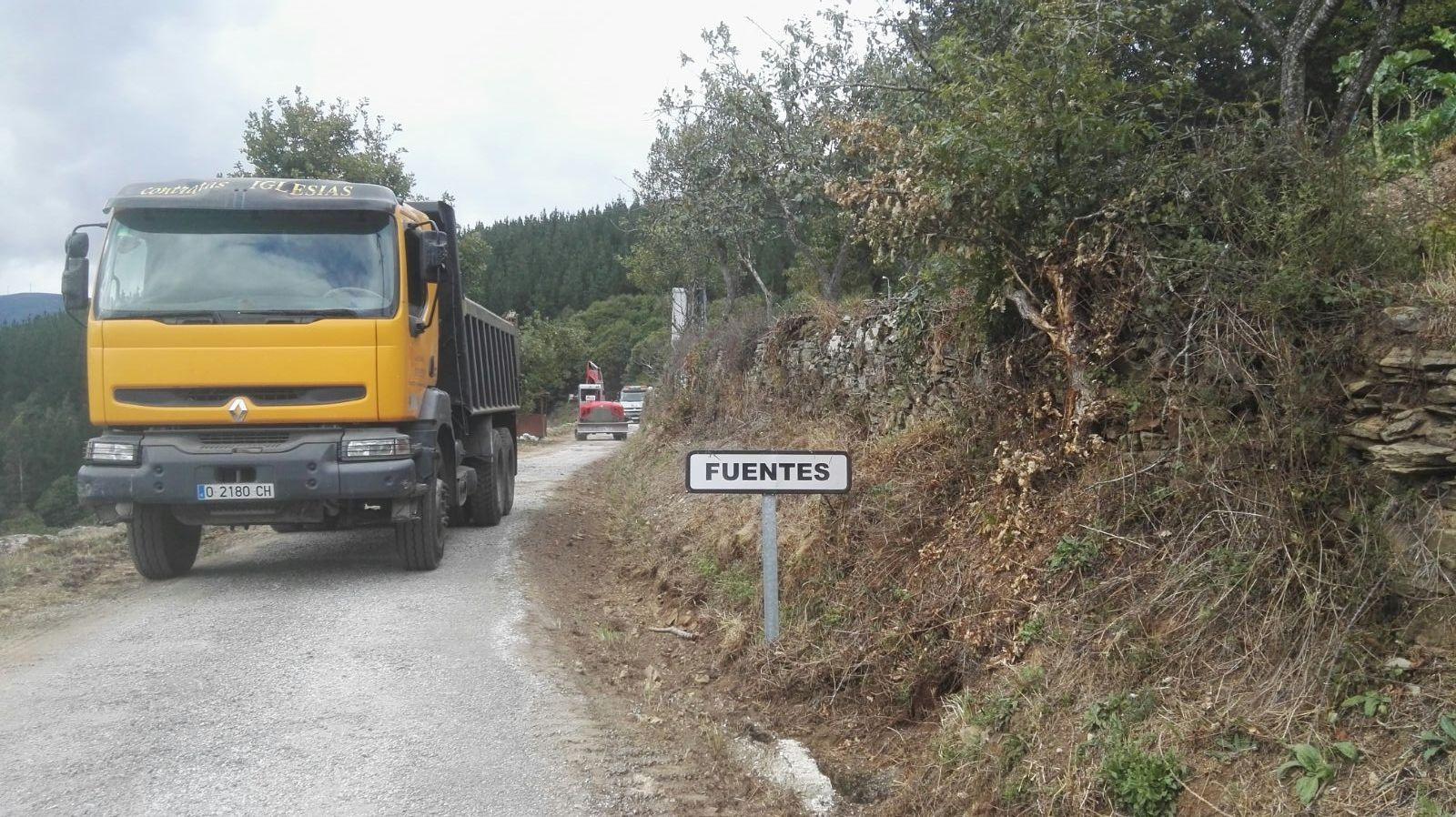 ALLANDE.- Adjudicadas las mejoras de los accesos a Fuentes