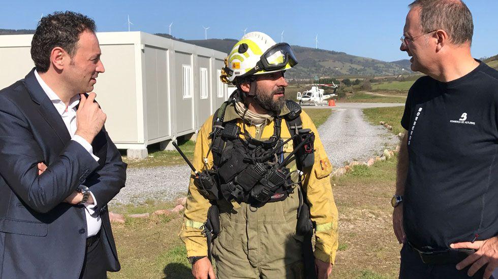 SUROCCIDENTE.- Mejoras en la base de bomberos de La Curiscada