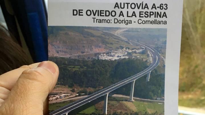 """El alcalde cangués al Diario de León: """"No renuncio a la autopista A-63"""""""