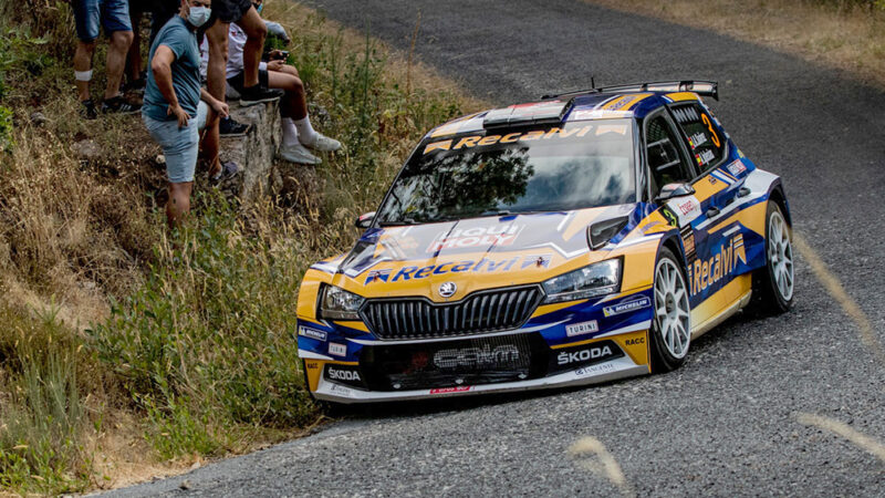 Cangas se queda sin la Copa de España de Rallyes de asfalto