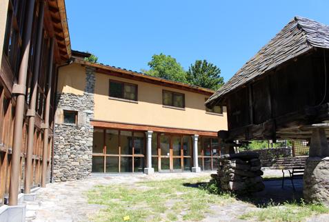El centro de interpretación del Parque,en Cerredo, quiere abrir en Semana Santa