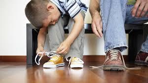 Los cordones de los zapatos y la rueda de la vida