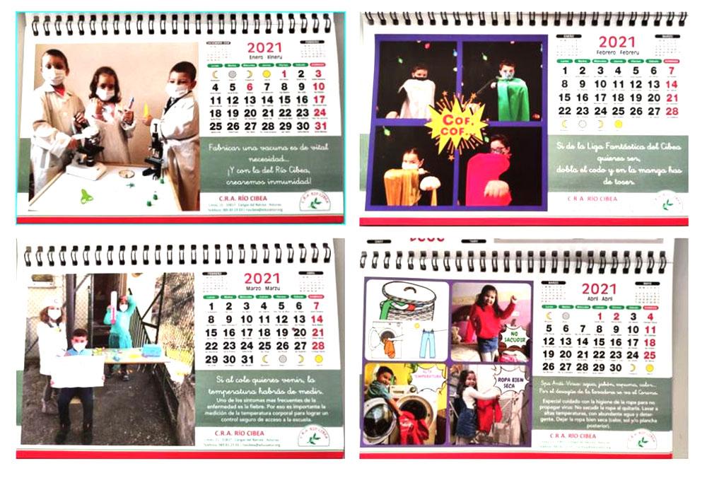 Consejos contra el Covid en el calendario escolar